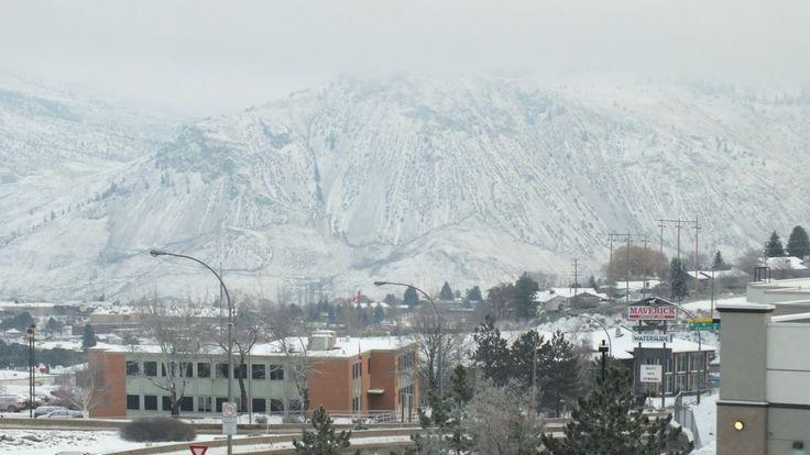 Snowy morning in Kamloops, BC