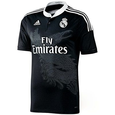 n/a Real Madrid Third Shirt 2014/15 F49264 Real Madrid Third Shirt 2014/15Support your favourite team in this Real Madrid Third Shirt. New for 2014, this stylish black shirt includes a thermal stamp of the Clubs crest for total team pride. Ma http://www.MightGet.com/february-2017-2/n-a-real-madrid-third-shirt-2014-15-f49264.asp