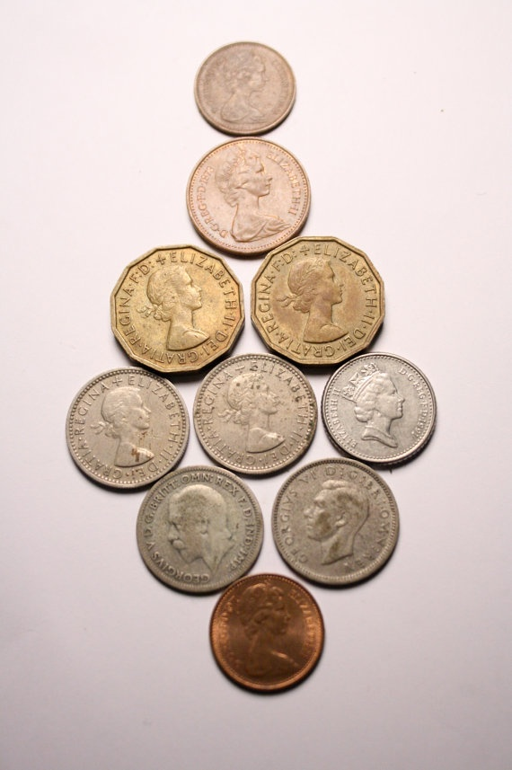 Britain Coins 1930s to 1970s