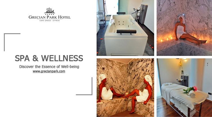 Experience holistic joys of pampering rejuvenation at the Spa & Wellness Center of Grecian Park Hotel Cyprus. Discover unique spa and beauty treatments by writing us at spa@grecianpark.com. http://bit.ly/1iVDFlc