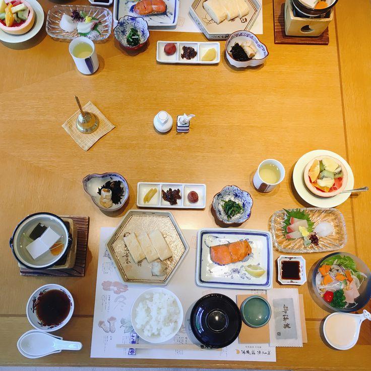 有馬温泉 温泉旅館 朝食 Japanese breakfast Hot spring hotel,Arima Onsen,Hyogo