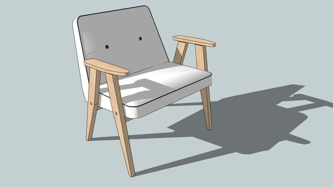 "Fotel ""366"" - 3D Warehouse"