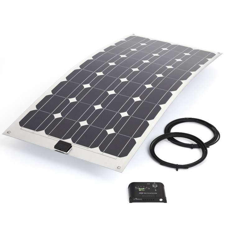 Biard Solar 100W Semi Flexible Kit With 10Amp Controller & 5 meter Cable