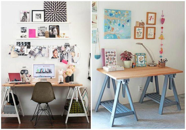 Ideas sencillas para hacer nuestro propio escritorio