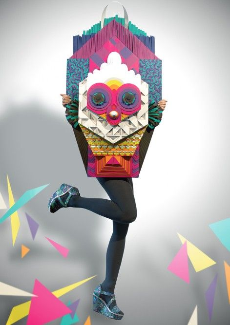 Maud Vantours does things with paper that make my imagination run wild!