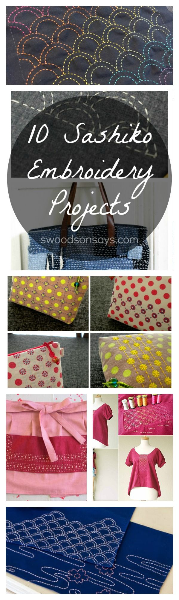 Sashiko Tutorials and DIY Inspiration