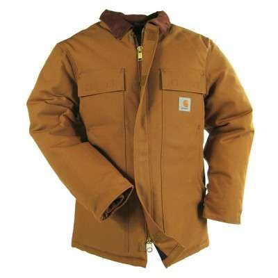 Carhartt C003 Brown Arctic Brown Duck Traditional Coat The C03 Has been changed to the C003, which now has Alpha sizing.