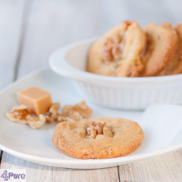 Walnootkoekjes, een recept voor knapperige koekjes, binnen 25 minuten klaar.