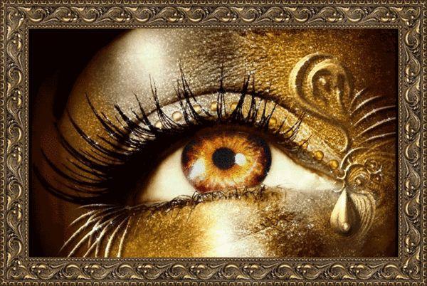 Glitter Gif Picgifs eyes 716985