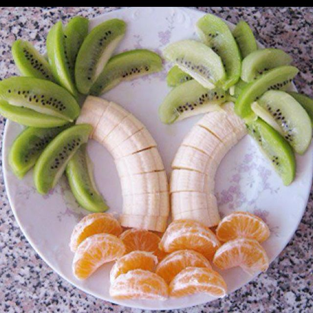 Love this.  Who wouldn't be smiling when they saw this on the breakfast or snack table! Cute. Emma's partu