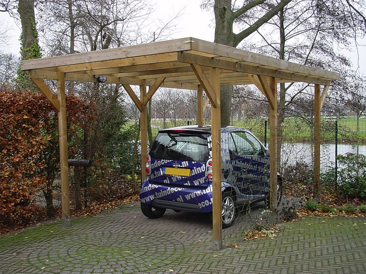 Detached carport free standing carport car ports for Free standing carport plans