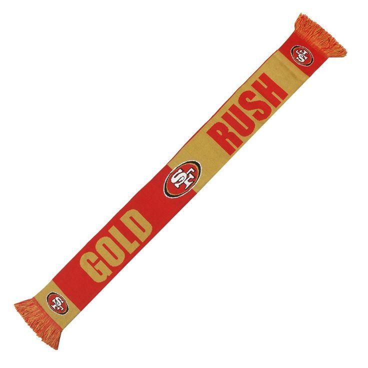 San Francisco 49ers Scarf - 2014 Slogan