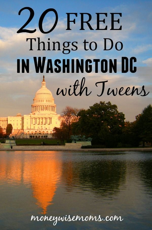 Whether you're a local or planning a visit to the area, these 20 Free Things to Do in Washington DC with Tweens will make your trip memorable on a budget.