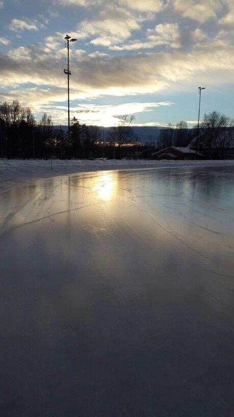 Sunset in winter wonderland ❄