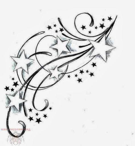 Star Foot Tattoos für Frauen | Tätowierungen entwirft Blumen Fotos Videos Nach…