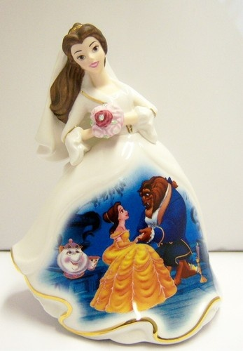 Happily Ever After Belle Disney Bell Figurine Dresses and Dreams | eBay