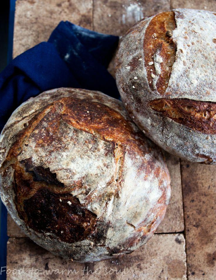 chleb wiejski tartine