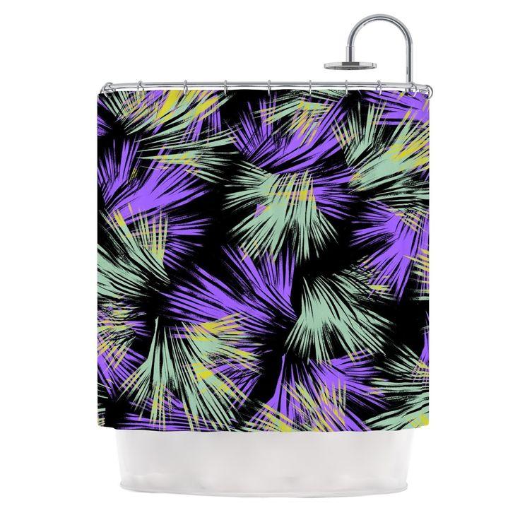 """Kess InHouse Gabriela Fuente """"Tropical Fun"""" Shower Curtain"""