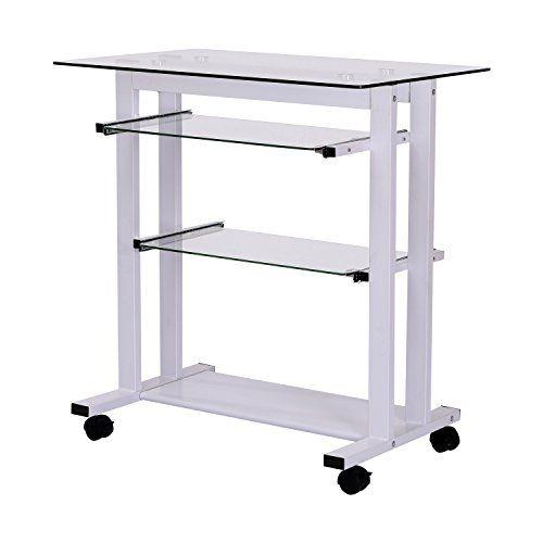 "$73 HomCom 33"" Glass Top Mobile Home Office Computer Cart Des... https://www.amazon.com/dp/B016QV82PQ/ref=cm_sw_r_pi_dp_x_cJvHyb7R120WS"