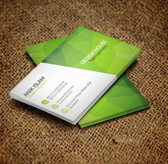 I Love Green Color And This Is The Best Ever Creative Business Card Design For Some Of Great People Largest Organization You Can Use