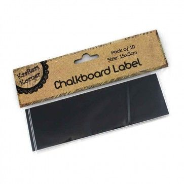 How fun are these labels? Just like a real chalkboard these labels can be written on with chalk!  http://www.hensnightshop.com.au/chalkboard-stickers.html