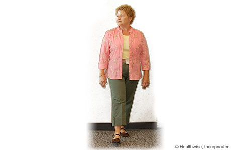 how to help lower back pain when walking