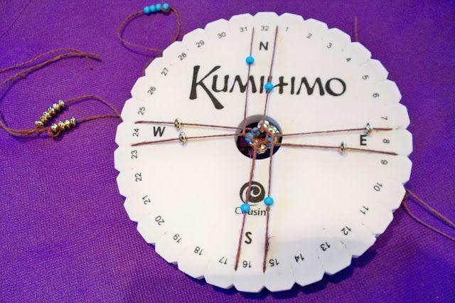 kumihimo beaded bracelets tutorial tejidos beaded