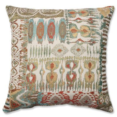 Patterned Throw Pillow | Wayfair.ca At once tranquil and serene, this multicoloured transitional-patterned throw pillow exudes a sense of calm into its surroundings. No matter what type of furnishings, this throw pillow is as versatile as it is stylish. Toss it with modern or antique pieces for an equally magnificent look.