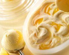 Krémová pomerančovo - citronová zmrzlina