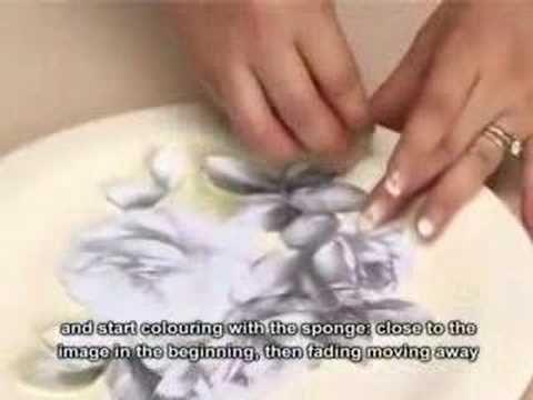 Decoupage pittorico su legno - Painting decoupage on wood