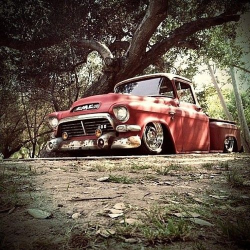 57 GMC Want!! If you own one of these, you should matv h its history