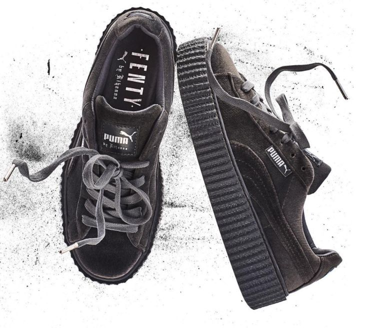 Rihanna Puma Creeper Green Velvet