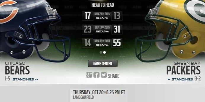 Packers vs Bears live stream  more:: http://packersvsbearslive.us/