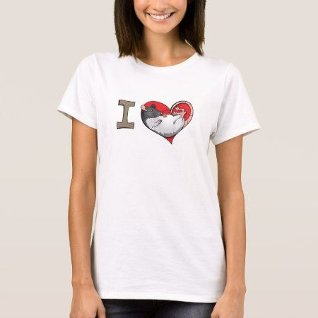 I heart rats T-Shirt - tap, personalize, buy right now!