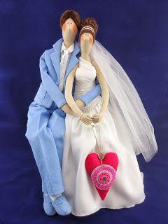 Артель игрушек -Ольги Гладких: Свадебная пара