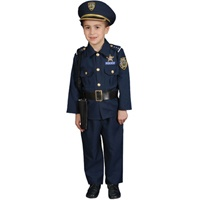 Here are some great Police Costumes for kids , they will look great at their next costume party.    Deluxe Police Costumes for Boys  Hoping to become a Police Officer someday? Well, if you are, this is the ideal costume for you. Our Deluxe Police Officer Set features a shirt, pants, hat, belt cuffs, whistle and gun holster.