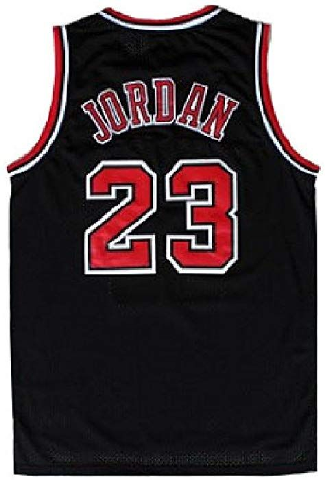 b066e7c2fb4 Amazon.com  MAUNBAR Legend Mens  23 Basketball Jerseys Sports Jersey Retro  Athletics Jersey Black(S-XXL) (XXL)  Clothing
