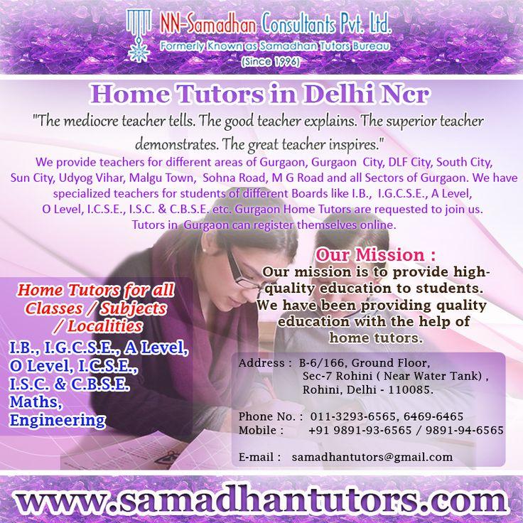 Math  Tutors in  Delhi provided by Samadhan Tutors