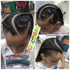 Más de las lindas #trenzas en #colorin #peluquerias #braids#braidsforgirls #girl #hair #hairstyles