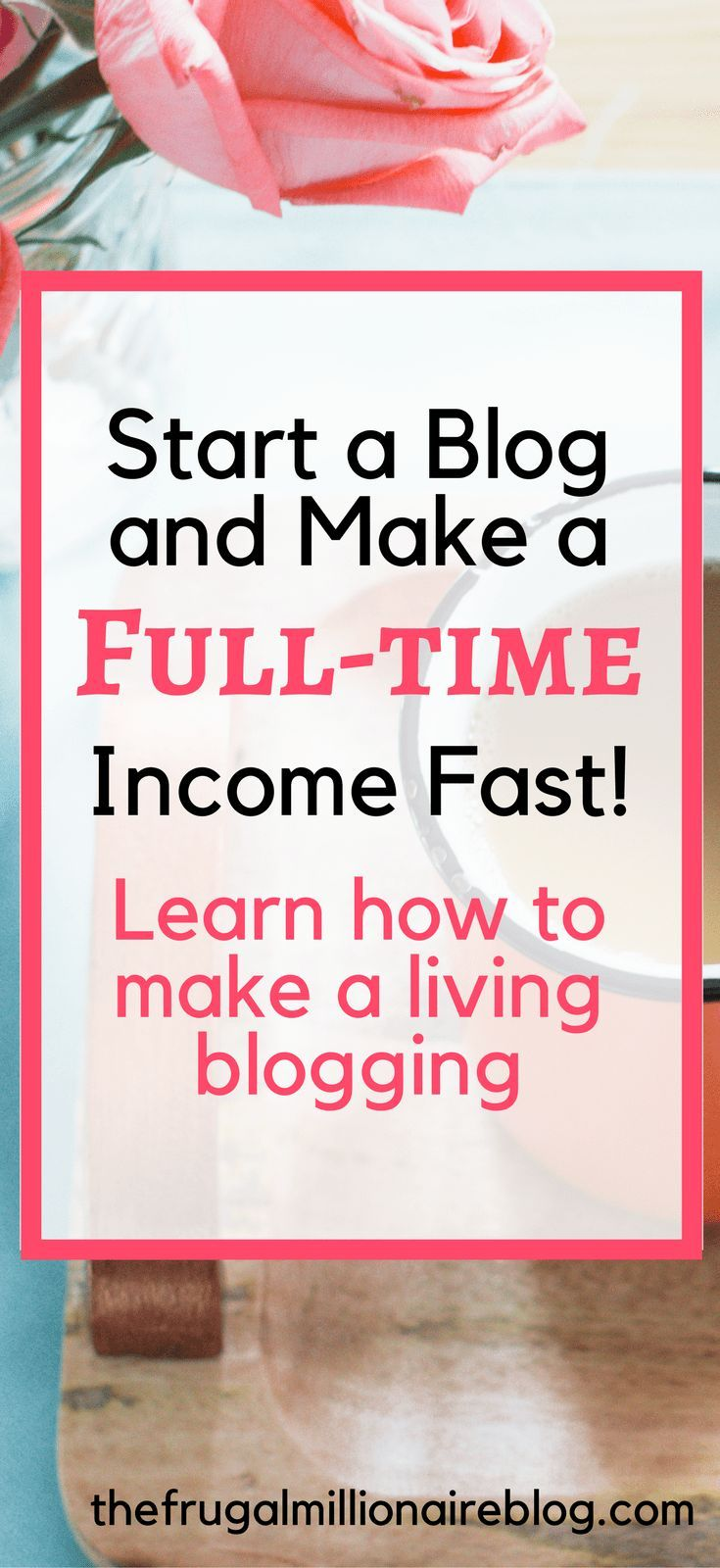 How to start a blog and make money online. Learn how to start a profitable blog and make extra money each month!