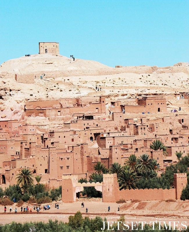 """As the """"Door to the Desert,"""" the town is where Berber-speakers call home. It is also here, where you'll eperience Morocco in its arid originality."""