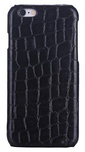 iCASEIT Genuine Leather iPhone Case - Genuine, Unique & Premium for iPhone 6 - Stone Pattern Series - MELANIT iCASEIT