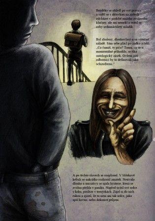 Petr Měrka - enfant terrible české literatury - a jeho grafická kniha Hloupé děti nečtou