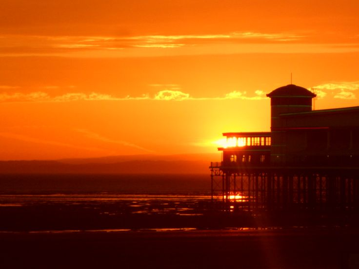 The Grand Pier, Weston-super-Mare, by Sally-Anne Griffiths
