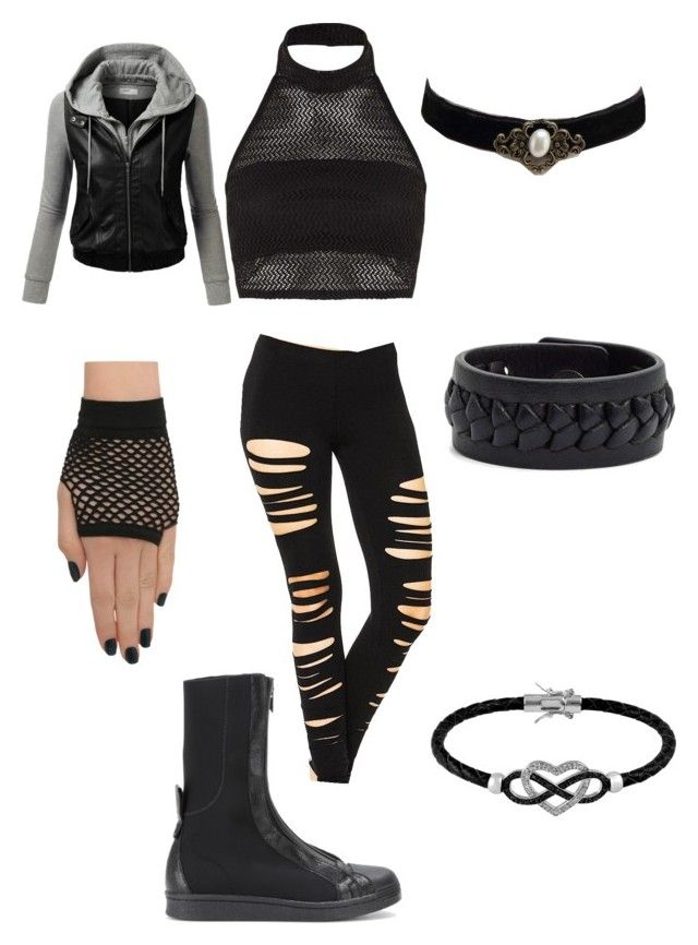 """""""Naruto OC, Ninja outfit (Hōseki)"""" by creativekeys ❤ liked on Polyvore featuring Y-3, Boohoo, J.TOMSON, Frye, Jewel Exclusive, women's clothing, women's fashion, women, female and woman"""