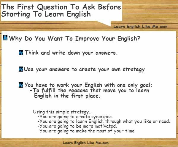 reasons for learning english essay Have you ever heard someone say that they can speak english and that is enough, because after all mo.