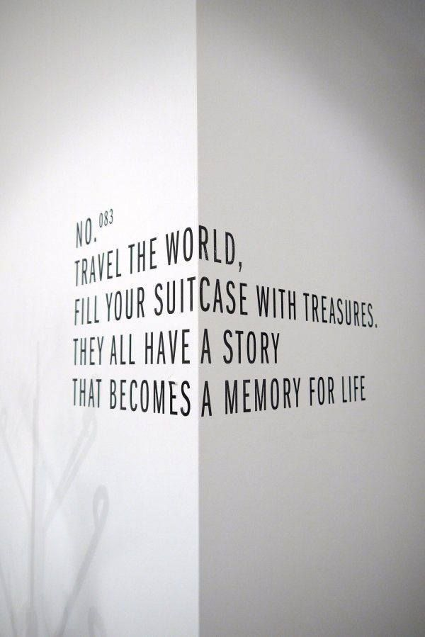 Travel the world. Fill your suitcase with treasures. They all have a story, that becomes a memory for life.
