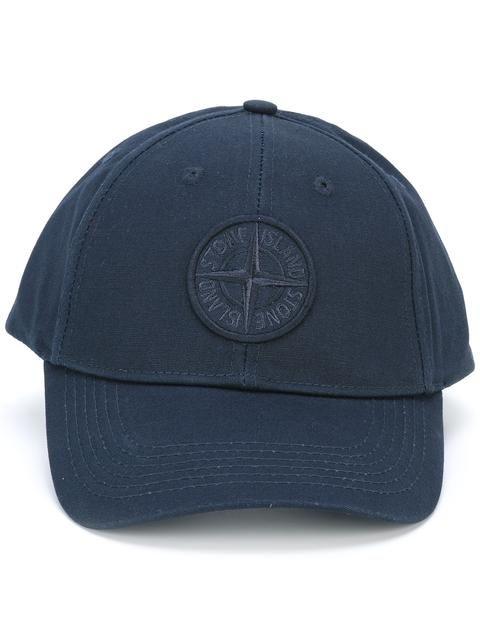 STONE ISLAND logo baseball cap. #stoneisland #cap