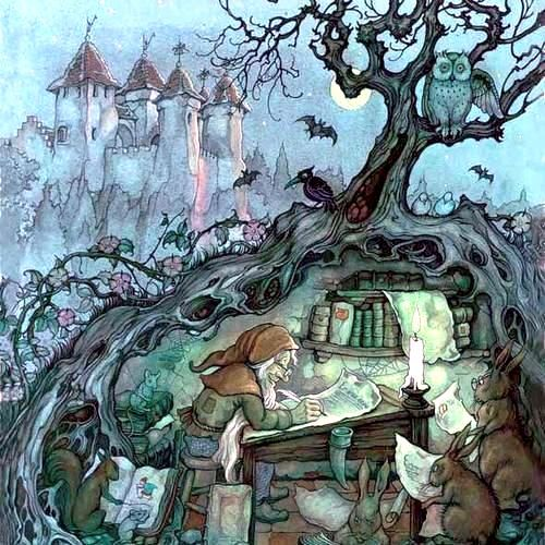 Anton Pieck ~ Tree Gnome