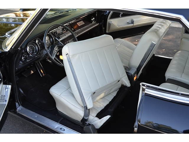 buick riviera two tone black u0026 white interior